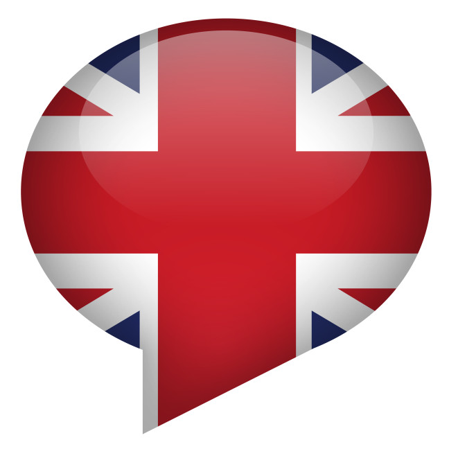 Union Jack Speech Bubble